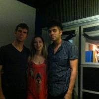 Sergio Flores, Nick Rosen, and Leah Zeger