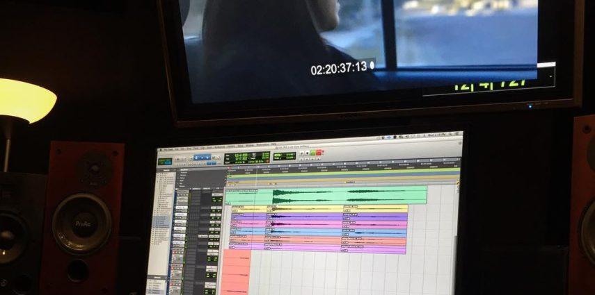 Recording the score 🎼 of @mondoboys / @pjcartwright arrangement. #stringquartet #filmscoring ...... . . <!-- #losangeles #recordingstudio #coles4038 #aeaR92 #cascademicrophones -->
